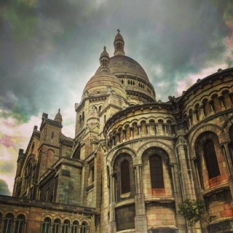 Sacre Coeur. There are few more special places in Paris. It has a magical energy.
