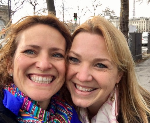 She's been one of my closest friends for over a decade and was with me the day The Parisian and I met (and encouraged me to stay).