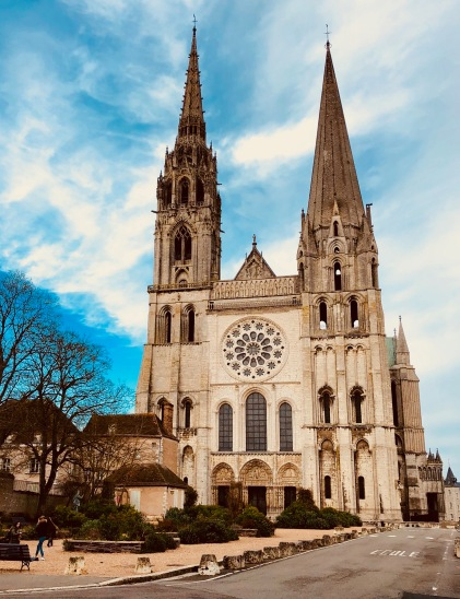 I took a day in February to just explore the grounds and take in the energy of Chartres, one of the most spiritual places in France and considered to be an energy vortex.