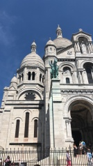 Sacre Coeur - one of my favorite places to sit and feel