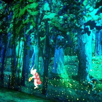 Playing with lights and Van Gogh at the Ateliers des Lumieres