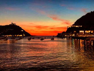 Thinking about beauty and pain in San Sebastian, Spain