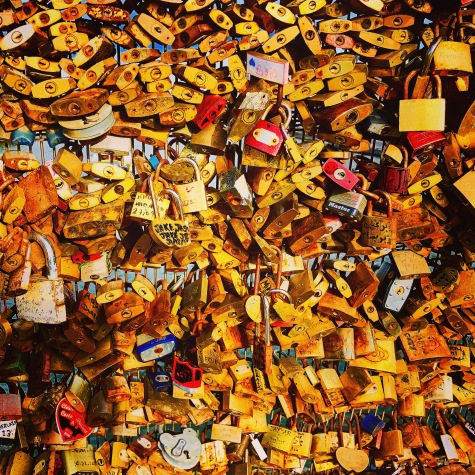 Love locks...a reminder of why they call Paris the City of Love