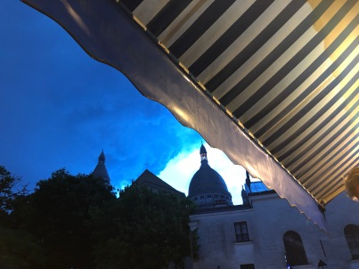 Storms brewing over Montmartre