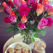 The Gift of Cookies and Flowers