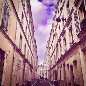 Stepping Back in Time - Paris Lockdown 2020